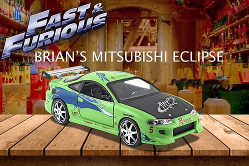 Fast & Furious: Brian's 1995 Mitsubishi Eclipse 1:32 Diecast Car