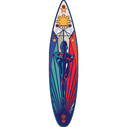 "Tracking 11'6"" Malaya Kalinaw Inflatable Stand Up Paddle Boards"