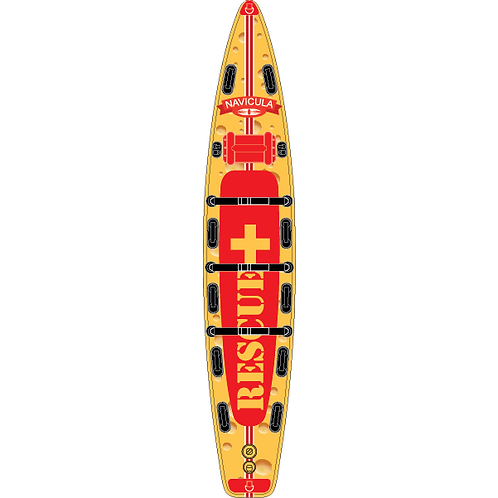 """Racing 12'6"""" Edam Rescue Inflatable Stand Up Paddle Boards"""