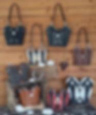 Handtaschen aus Westernstiefel, Ledertaschen, Westerntaschen, Linedance