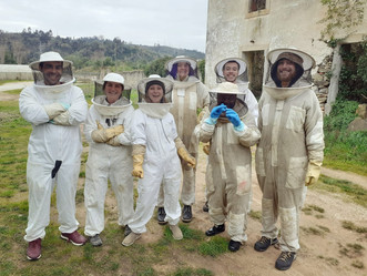 Mediterranean Ecosystems - beekeeping session