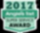 Angie's List Super Service Award 2017 emblem