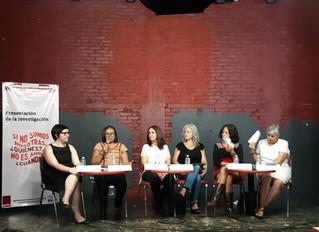 """Presentación de la investigación sobre mujeres defensoras """"Si no somos nosotras, ¿quiénes? Si n"""