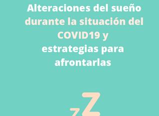Alteraciones del sueño durante la situación del COVID19 y estrategias para afrontarlas