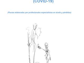 Guía para las personas que sufren una pérdida en tiempos del coronavirus  (COVID-19)
