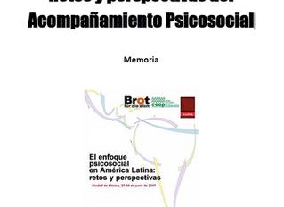 América Latina: Retos y perspectivas del  Acompañamiento Psicosocial