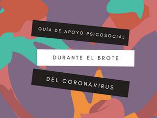 Guía de apoyo psicosocial durante el brote del coronavirus / en la desescalada