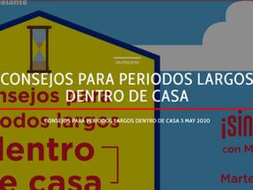 Participación de Aluna en Código Radio: Consejos para periodos largos dentro de casa