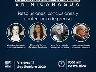 """Tribunal de Conciencia para Nicaragua: """"Violencia sexual: crimen de lesa humanidad"""""""