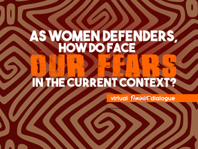 As Women HDRs, how do we face fear in the current context?