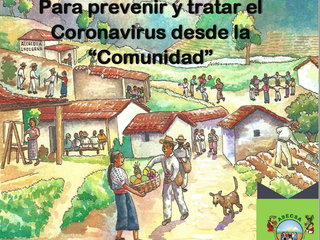 """Para prevenir y tratar el Coronavirus desde la """"Comunidad"""""""