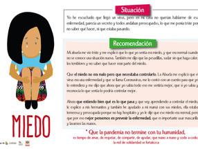 Recomendaciones psicosociales para enfrentar casos de violencia doméstica, preocupación, miedo etc.