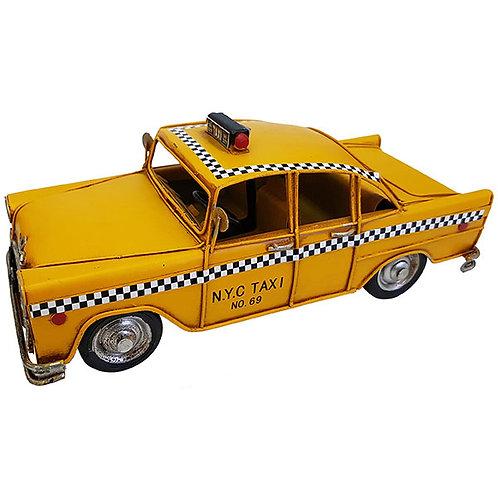 """מכונית רטרו """"מונית צהובה"""""""
