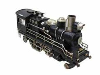 קטר רכבת רטרו שחור