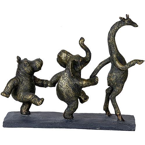 """פסל אומנותי """"קרנבל"""" מבית פסלי היוקרה """"GRACIA GALLERY"""""""