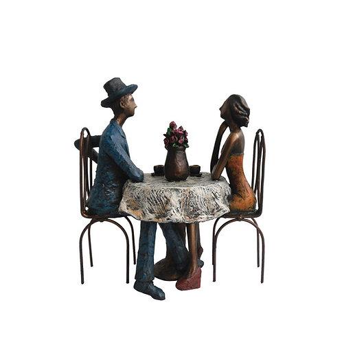 """פסל אומנותי """"קפה מילאנו"""" מבית פסלי היוקרה """"GRACIA GALLERY"""""""