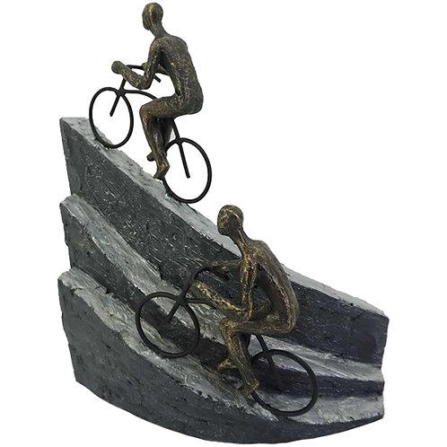 """פסל אומנותי """"רוכבים בשביל האתגר"""" מבית פסלי היוקרה """"GRACIA GALLERY"""""""