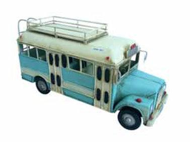 אוטובוס כחול רטרו