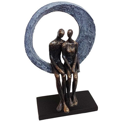 """פסל אומנותי """"אינטימיות ביחד"""" מבית פסלי היוקרה """"GRACIA GALLERY"""""""