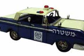 מכונית משטרה רטרו