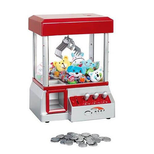 מכונת משחק השולפת ממתקים והפתעות