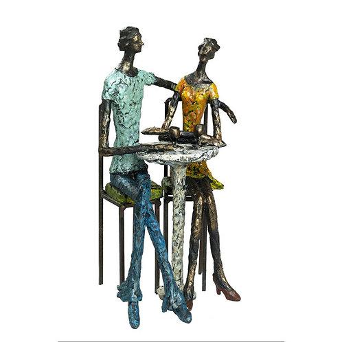 """פסל אומנותי """"קפה פריז"""" מבית פסלי היוקרה """"GRACIA GALLERY"""""""