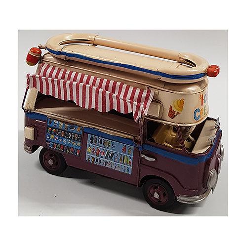 ואן אוטו גלידה רטרו שנות ה-60
