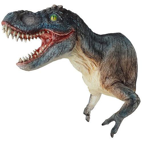 פסל ראש דינוזאור לקיר