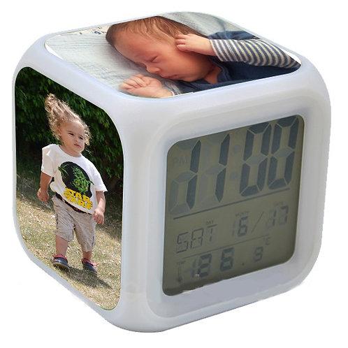 שעון מעורר עם הדפסה