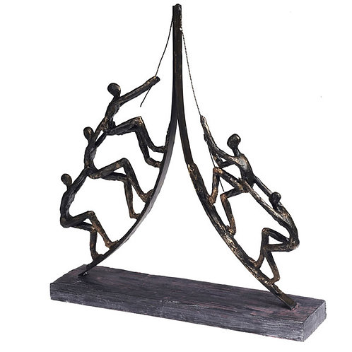 """פסל אומנותי """"עבודת צוות"""" מבית פסלי היוקרה """"GRACIA GALLERY"""""""