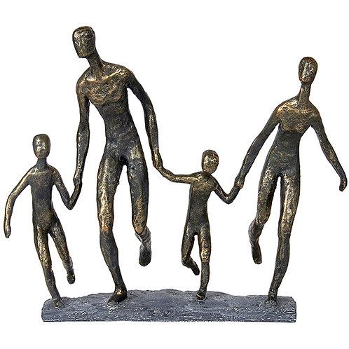 """פסל אומנותי """"שמחת חיים"""" מבית פסלי היוקרה """"GRACIA GALLERY"""""""