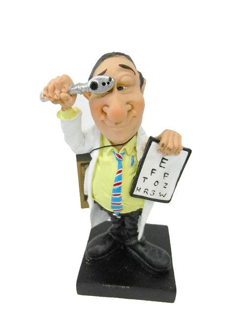 פסל רופא עיניים קטן