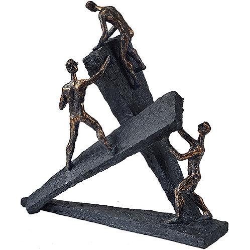 """פסל אומנותי """"לא ניתנים לעצירה"""" מבית פסלי היוקרה """"GRACIA GALLERY"""""""