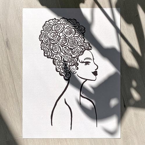 Rosey Print