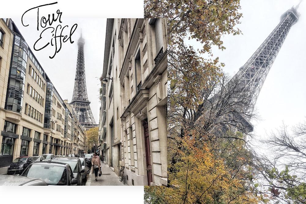Shots van de Eiffeltoren