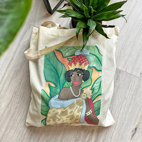 Queen Nzinga Totebag