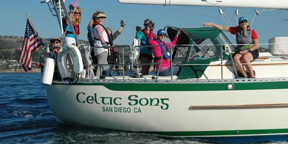 Crew on Celtic Song  June 13
