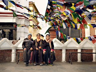 Swayambhunath Pilgrims