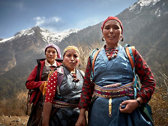 Tamang women