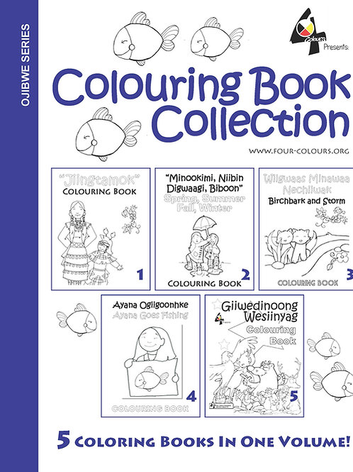 Ojibwe Colouring Book Collection