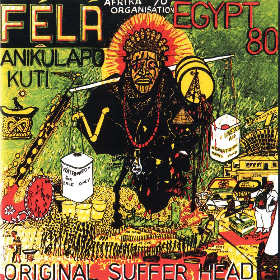 Fela Kuti x Original suffer head