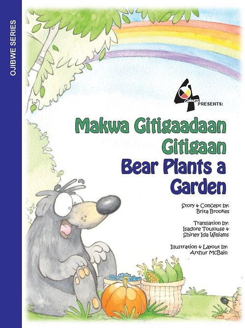 Bear Plants a Garden