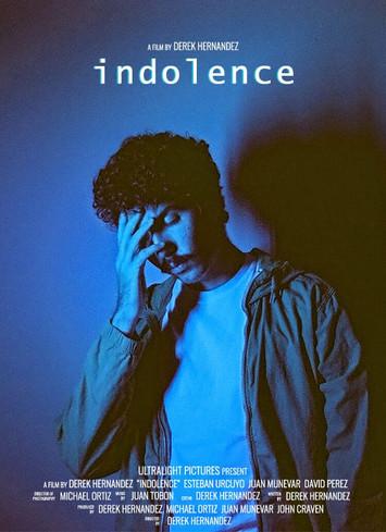 """""""Indolence"""" by Derek Hernandez Film Poster"""