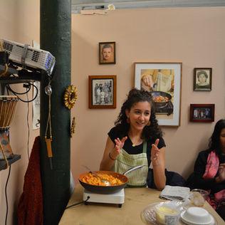 Family Meal in Studio (I, II, and III)