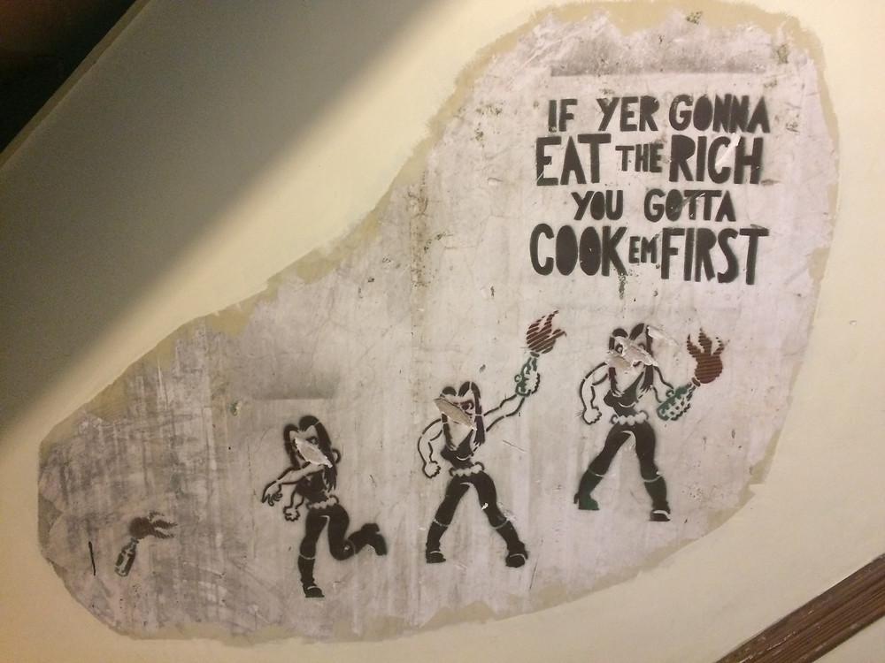 Original artwork in Umbrella House