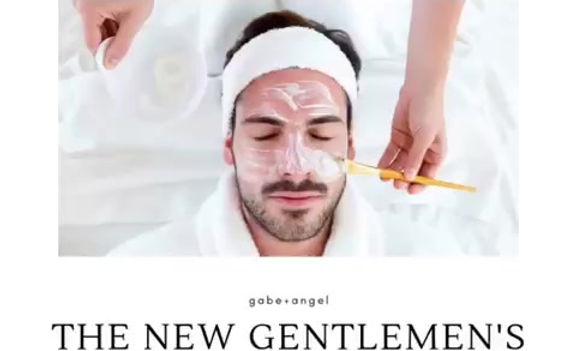 men organic facial