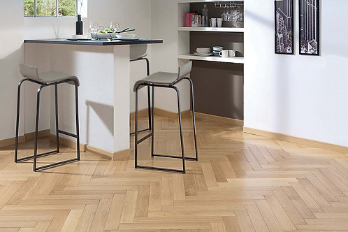 FRENCH OAK MIXED  SATIN Herringbone 90