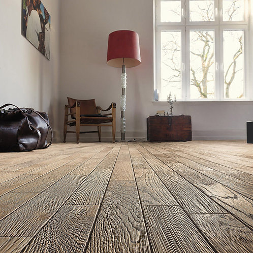HARO PARQUET 4000  Longstrip 4V Oak Tobacco Grey Terra retro brushed 3D