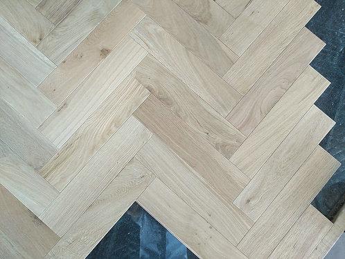 Engineered Herringbone Flooring Brushed UV Oiled  BV-H1893