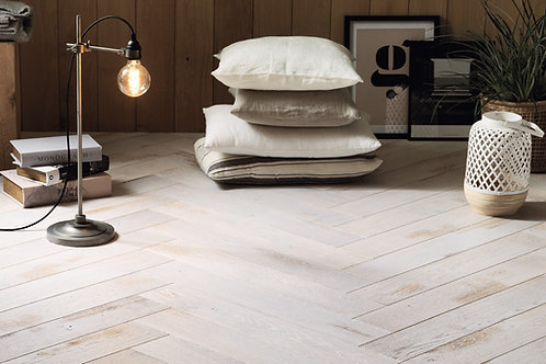 FRENCH OAK SHABI CHAUX HERRINGBONE 139
